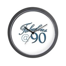 Fabulous at 90 Wall Clock