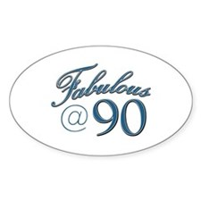 Fabulous at 90 Decal