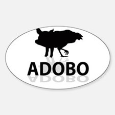 Adobo Sticker (Oval)