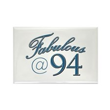 Fabulous at 94 Rectangle Magnet (10 pack)