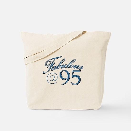 Fabulous at 95 Tote Bag