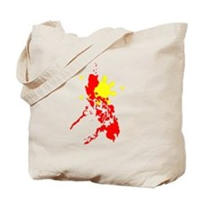 Sun and Map Tote Bag