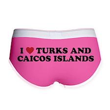 I Love Turks and Caicos Islands Women's Boy Brief