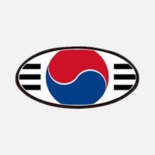 South Korea Roundel Patches
