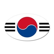 South Korea Roundel Wall Decal