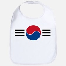 South Korea Roundel Bib