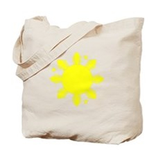 Sun and stars Tote Bag