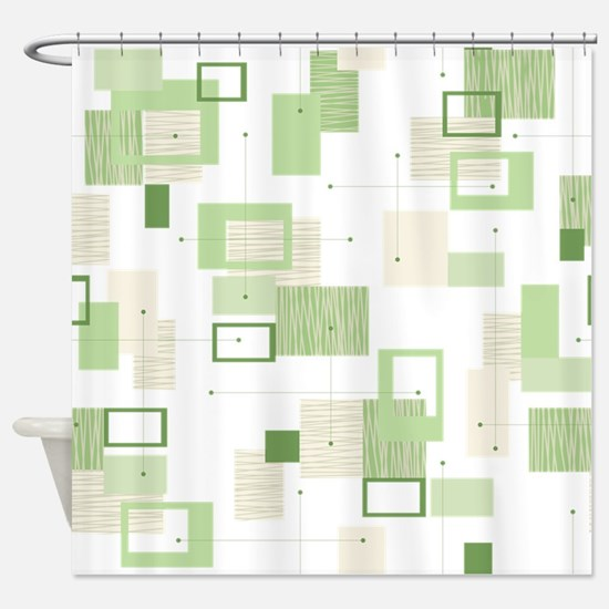 Makanahele Mid Century Modern 13 Shower Curtain