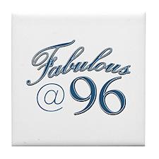 Fabulous at 96 Tile Coaster