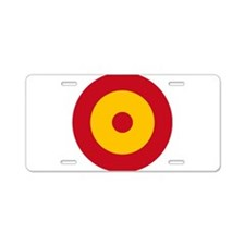 Spain Roundel Aluminum License Plate