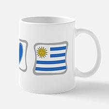 Peace Love and Uruguay Mug