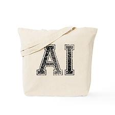 AI, Vintage Tote Bag