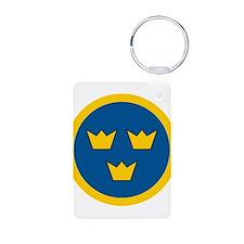 Sweden Roundel Keychains