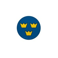 Sweden Roundel Mini Button (10 pack)