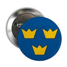 "Sweden Roundel 2.25"" Button"