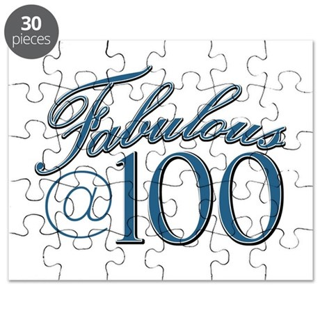 Fabulous at 100 Puzzle