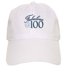 Fabulous at 100 Baseball Cap