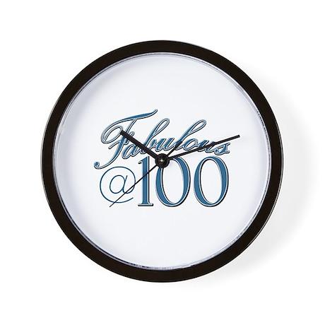 Fabulous at 100 Wall Clock