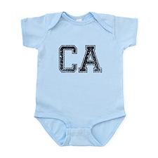 CA, Vintage Infant Bodysuit
