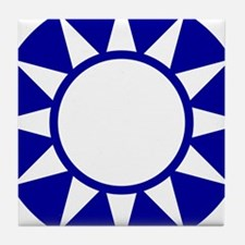 Taiwan Roundel Tile Coaster
