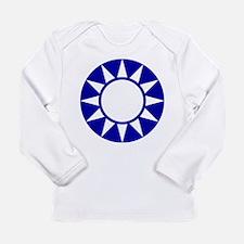 Taiwan Roundel Long Sleeve Infant T-Shirt