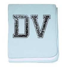 DV, Vintage baby blanket