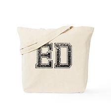 ED, Vintage Tote Bag