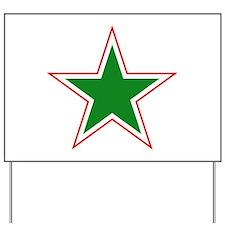 Tajikistan Roundel Yard Sign