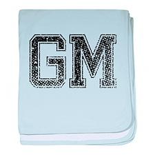 GM, Vintage baby blanket