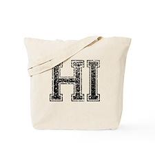 HI, Vintage Tote Bag