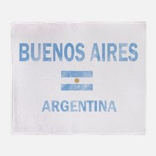 Buenos Aires, Argentina Designs Throw Blanket