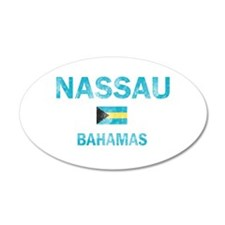 Nassau, Bahamas Designs Wall Decal