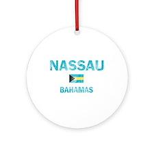 Nassau, Bahamas Designs Ornament (Round)