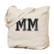 MM, Vintage Tote Bag