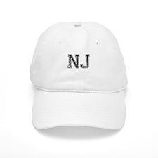 NJ, Vintage Baseball Baseball Cap