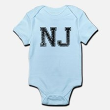 NJ, Vintage Infant Bodysuit