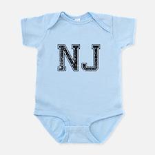 NJ, Vintage Onesie