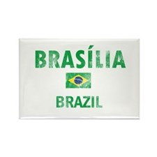 Brasilia Brazil Designs Rectangle Magnet (10 pack)
