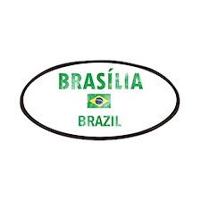 Brasilia Brazil Designs Patches