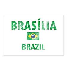 Brasilia Brazil Designs Postcards (Package of 8)
