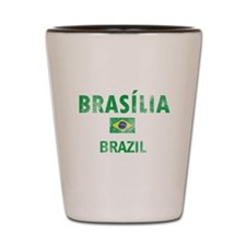 Brasilia Brazil Designs Shot Glass