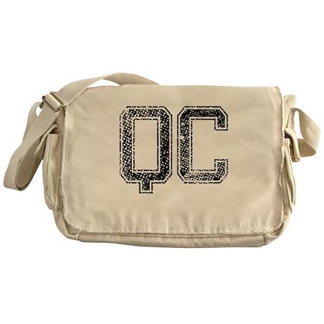 QC, Vintage Messenger Bag