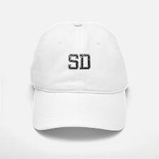 SD, Vintage Baseball Baseball Cap