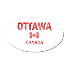 Ottawa Canada Designs Wall Decal