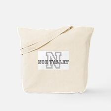 Noe Valley (Big Letter) Tote Bag