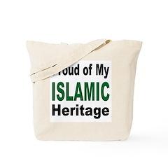 Proud Islamic Heritage Tote Bag