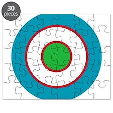 Uzbekistan Roundel Puzzle