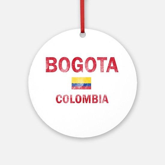 Bogota Colombia Designs Ornament (Round)