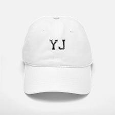 YJ, Vintage Baseball Baseball Cap