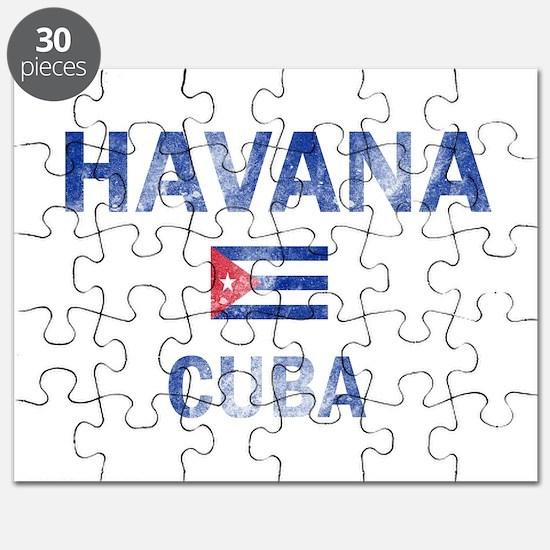 Havana Cuba Designs Puzzle